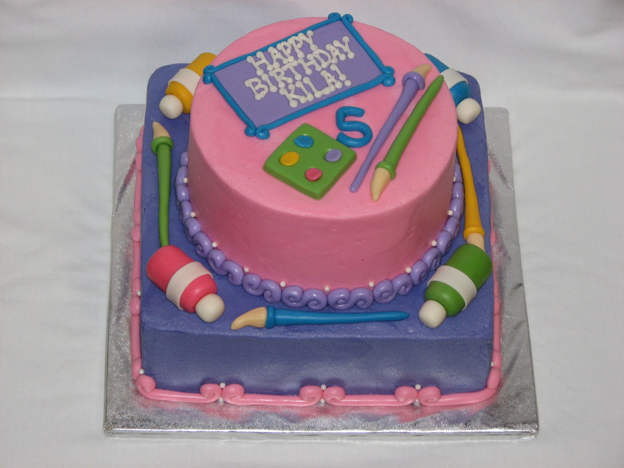 An Art Cake For A Princess Tfl on Cake Central