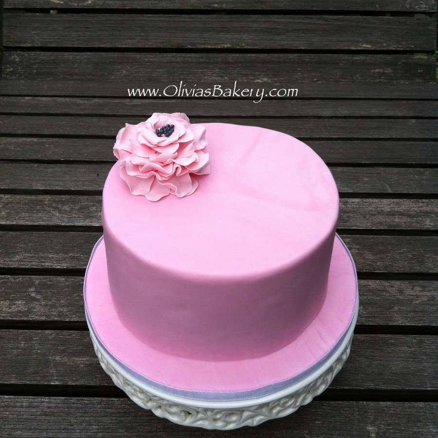 Pink Cake - Breast Cancer Awareness Month on Cake Central