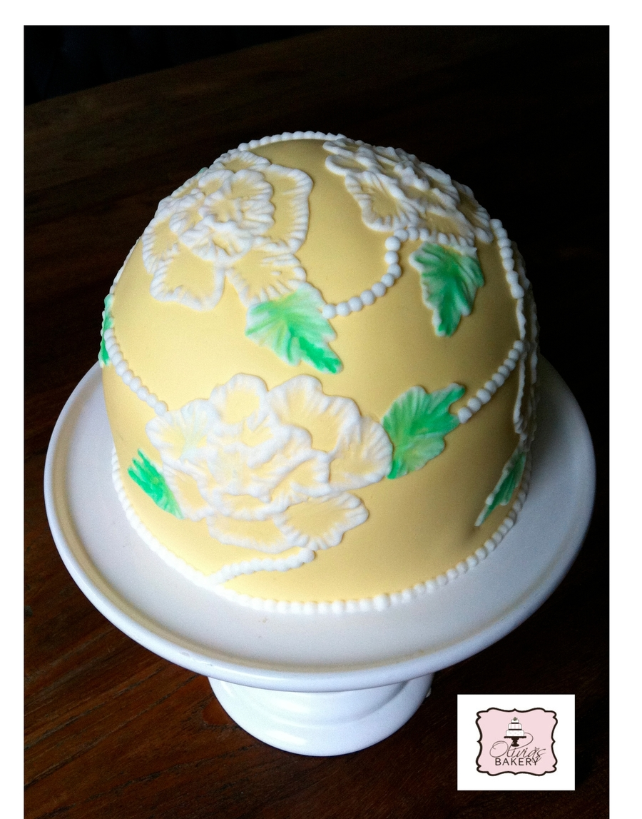 Rose Dome on Cake Central