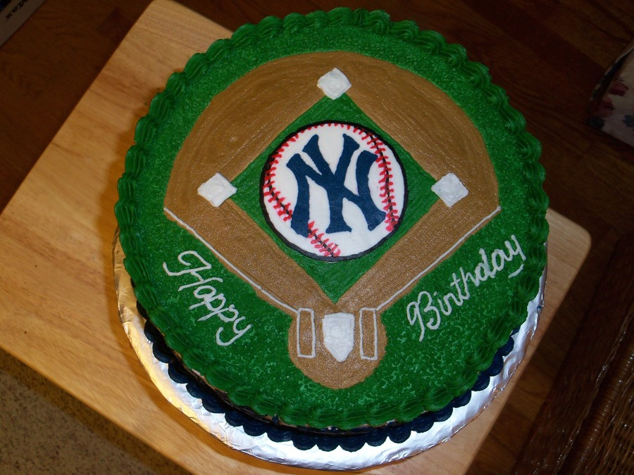 New York Yankees Birthday Cakecentral Com