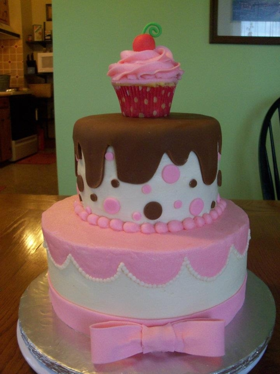 cupcake themed birthday cakecentral com