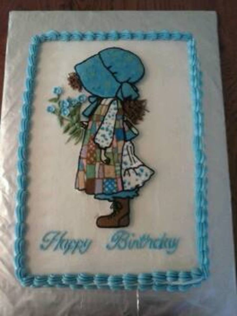 Holly Hobbie Birthday on Cake Central