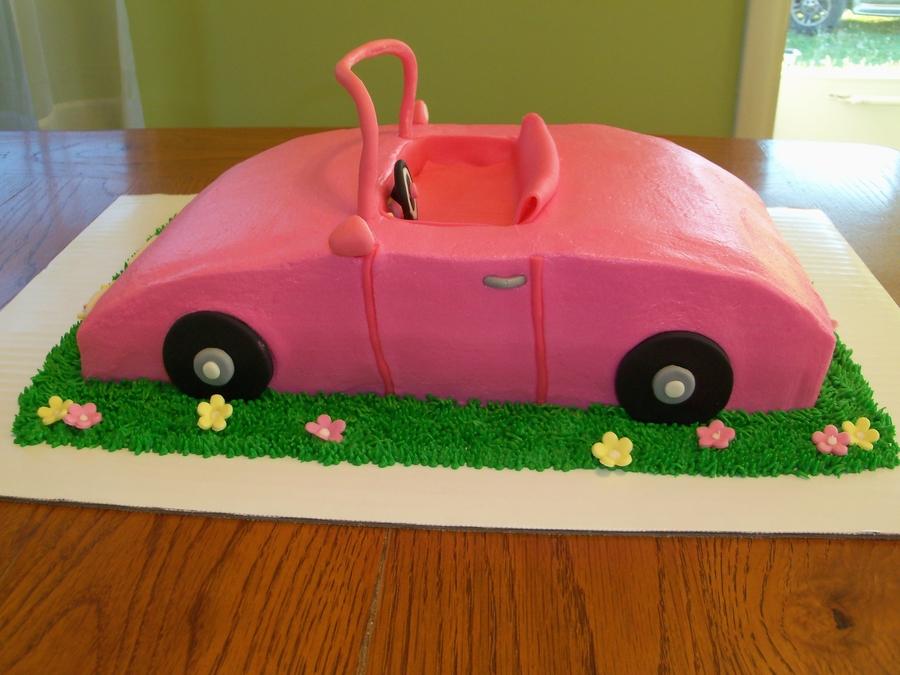 Barbie Car Cakecentral