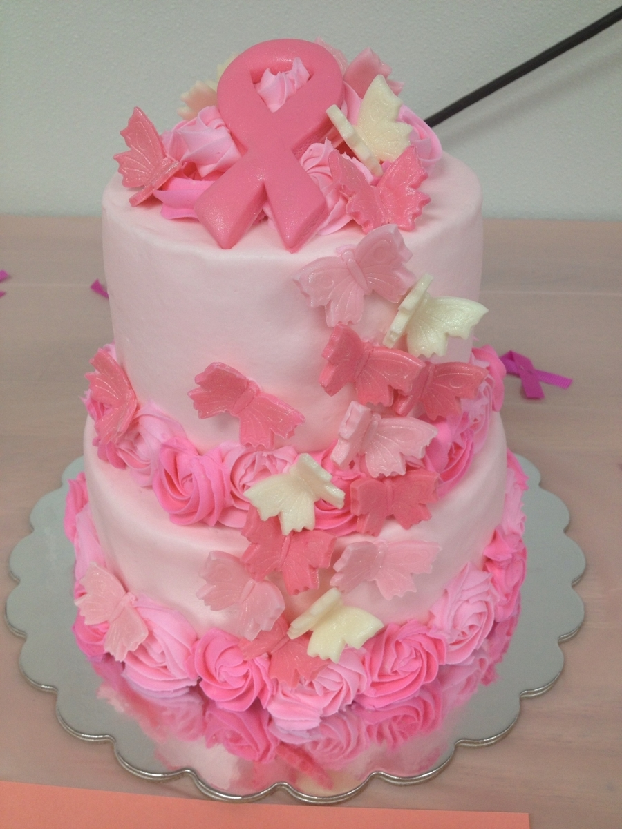 Breast Cancer on Cake Central