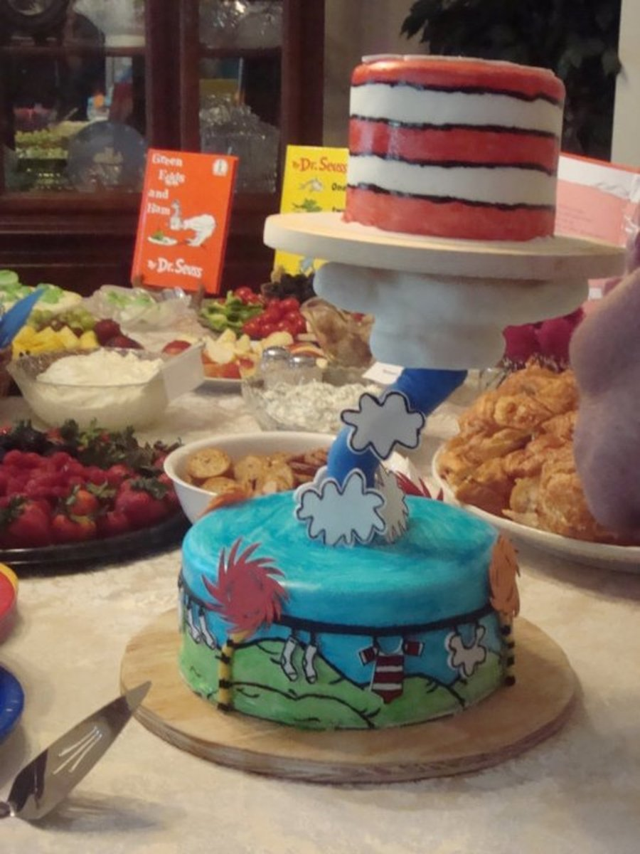 Dr. Suess on Cake Central