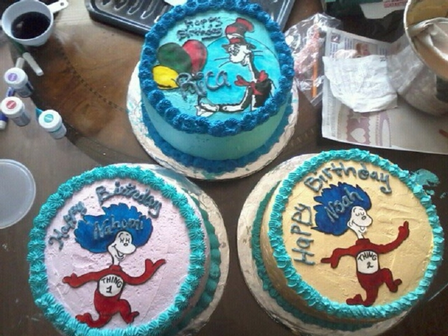 Dr. Seuss  on Cake Central
