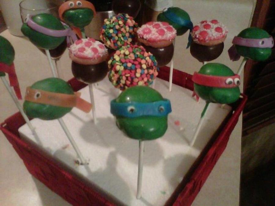 Turtle Cake Pops Recipe