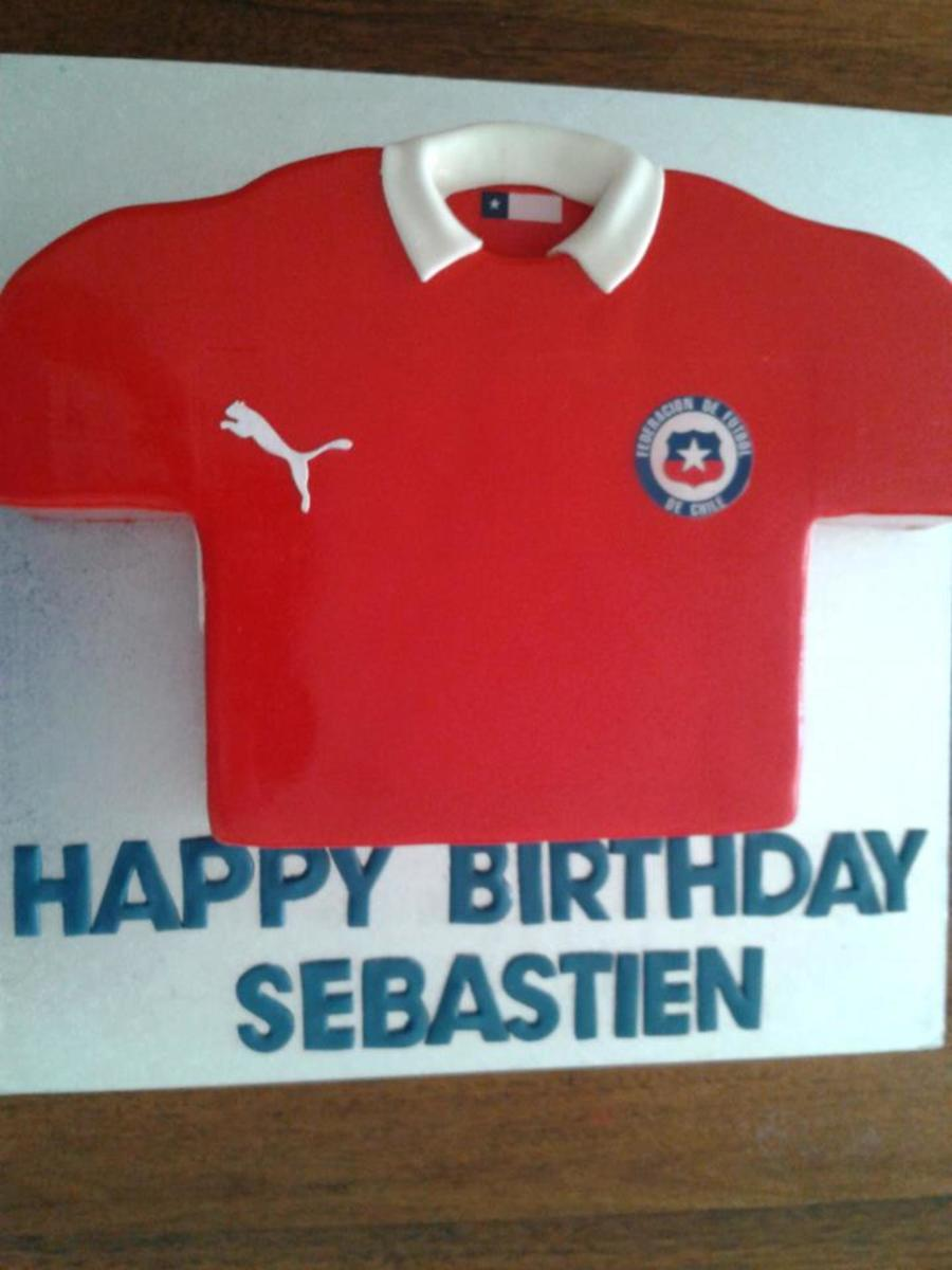 Chilean Jersey on Cake Central