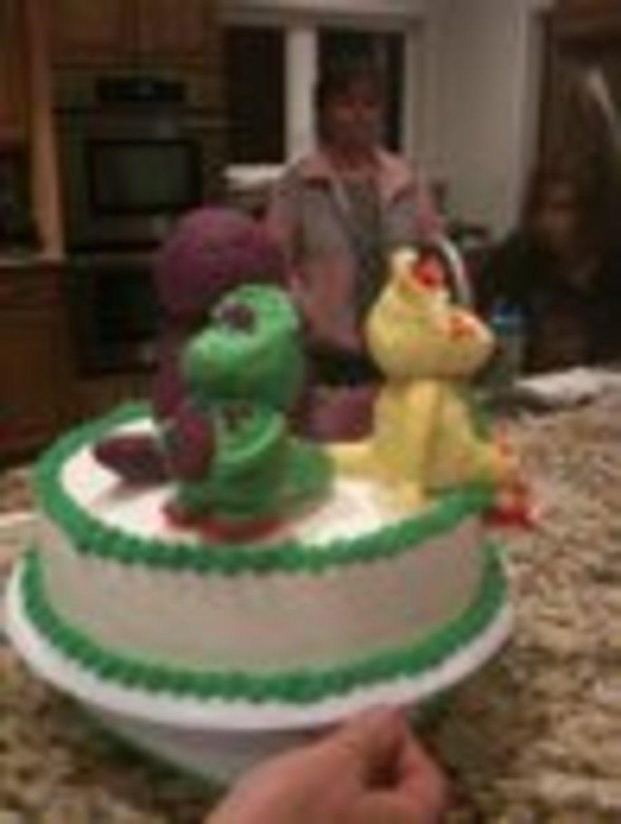 Barney Baby Bop Bj Cakecentral