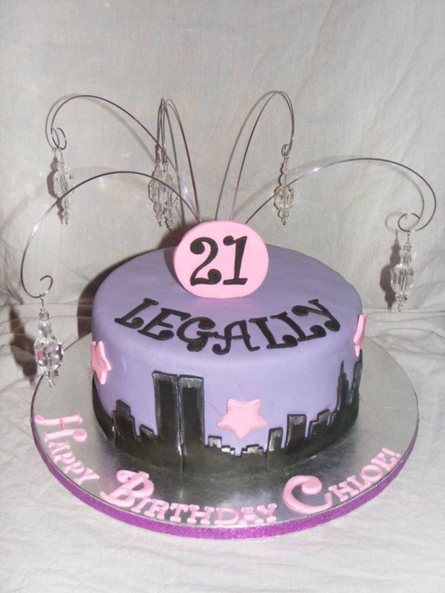 21St Birthday For An Nyu Student! on Cake Central