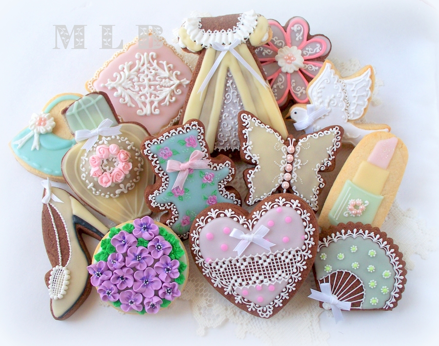 Birthday Cookie Set  on Cake Central