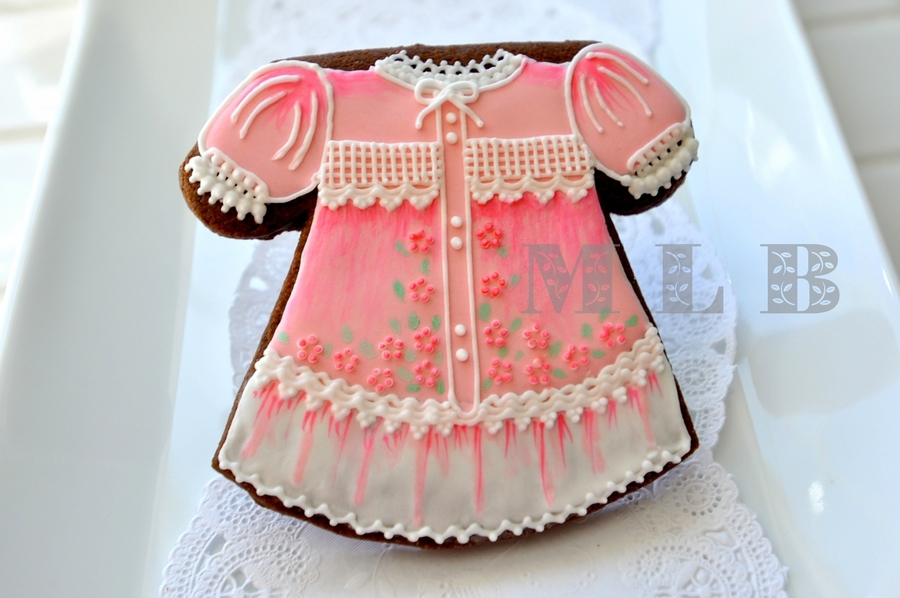 Baby Dress Cookie on Cake Central