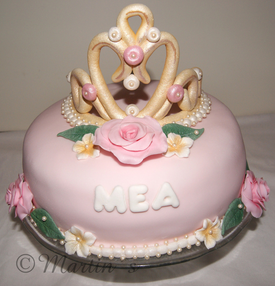 A Birthday Cake For My 4Year Old Girl - CakeCentral.com