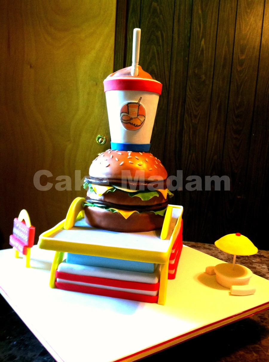Mcdonalds Cake This Cake Was For A Man Who Owns 75 Mcdonalds