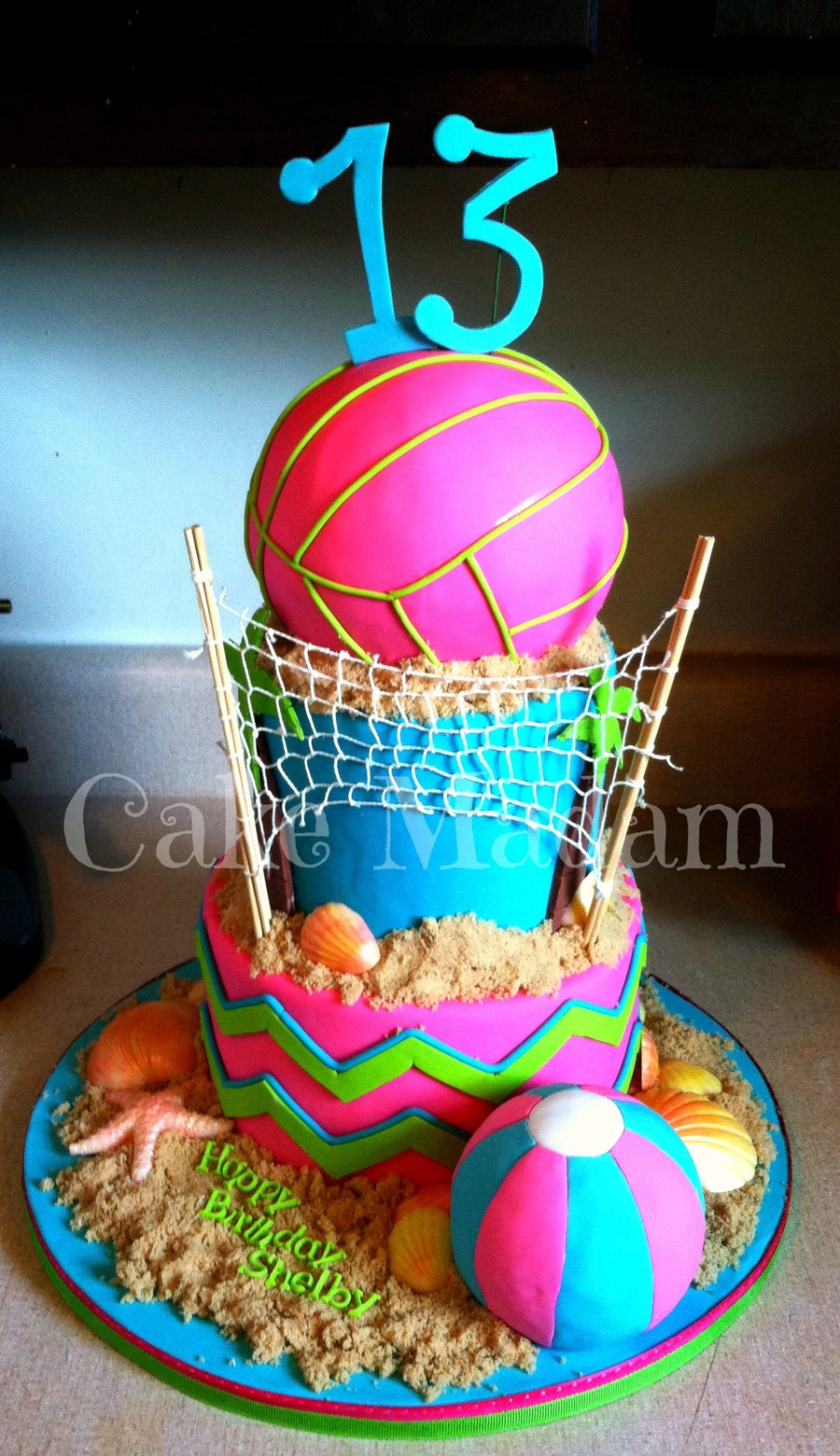 Volleyball Cake Cakecentral Com