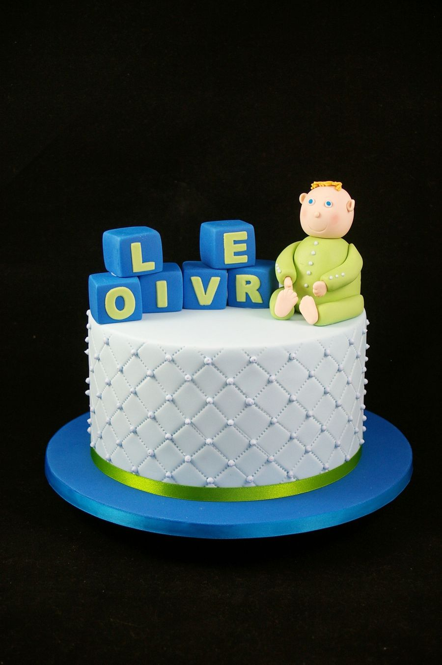 Naming Day For Oliver on Cake Central