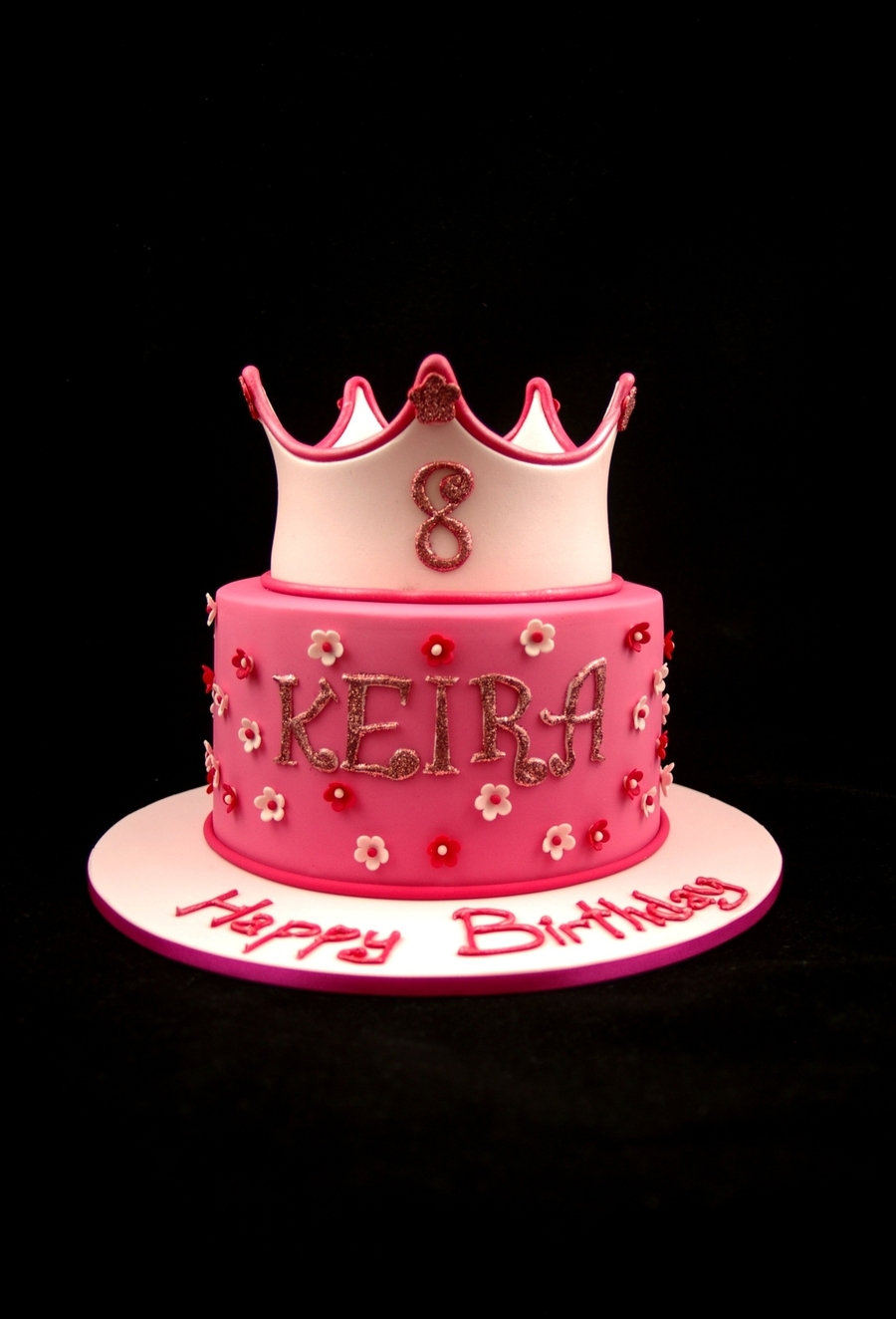 Pink Princess Crown on Cake Central