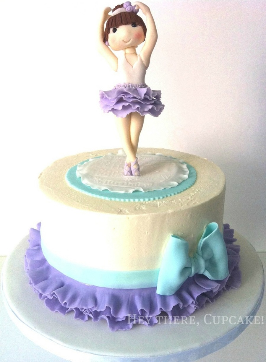 Ballerina Birthday on Cake Central