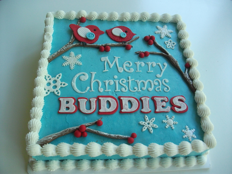 Celebration Christmas Cake For My Sons Buddy Program Break Up Where The Senior Students Buddy Up With A Prep Student To Offer Support An on Cake Central