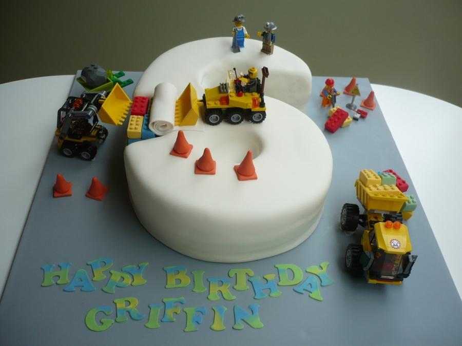 Lego Construction Cake Cakecentral