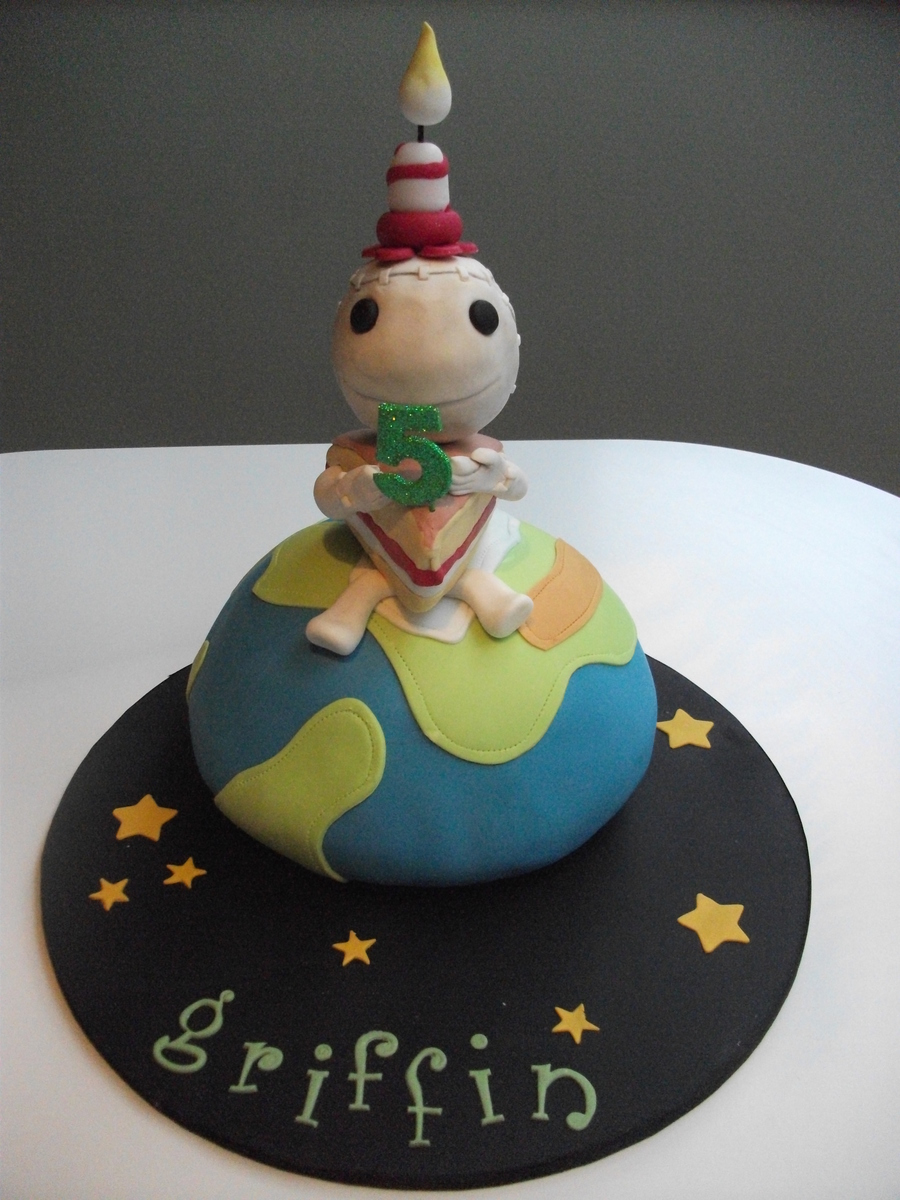 Pleasing Little Big Planet Cake Cakecentral Com Birthday Cards Printable Riciscafe Filternl