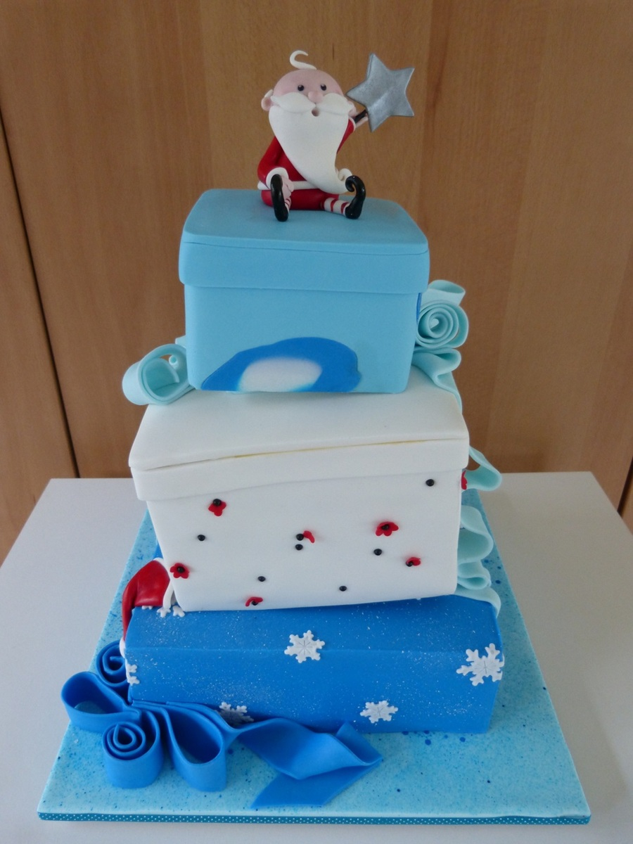 Christmas Cake For My 7 Year Olds Class Christmas Party