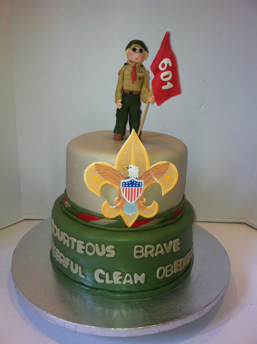 Boy Scout Court Of Honor Cake on Cake Central