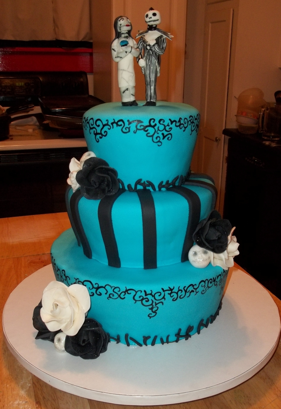 Nightmare Wedding on Cake Central