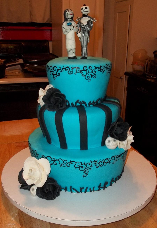 Nightmare Wedding - CakeCentral.com