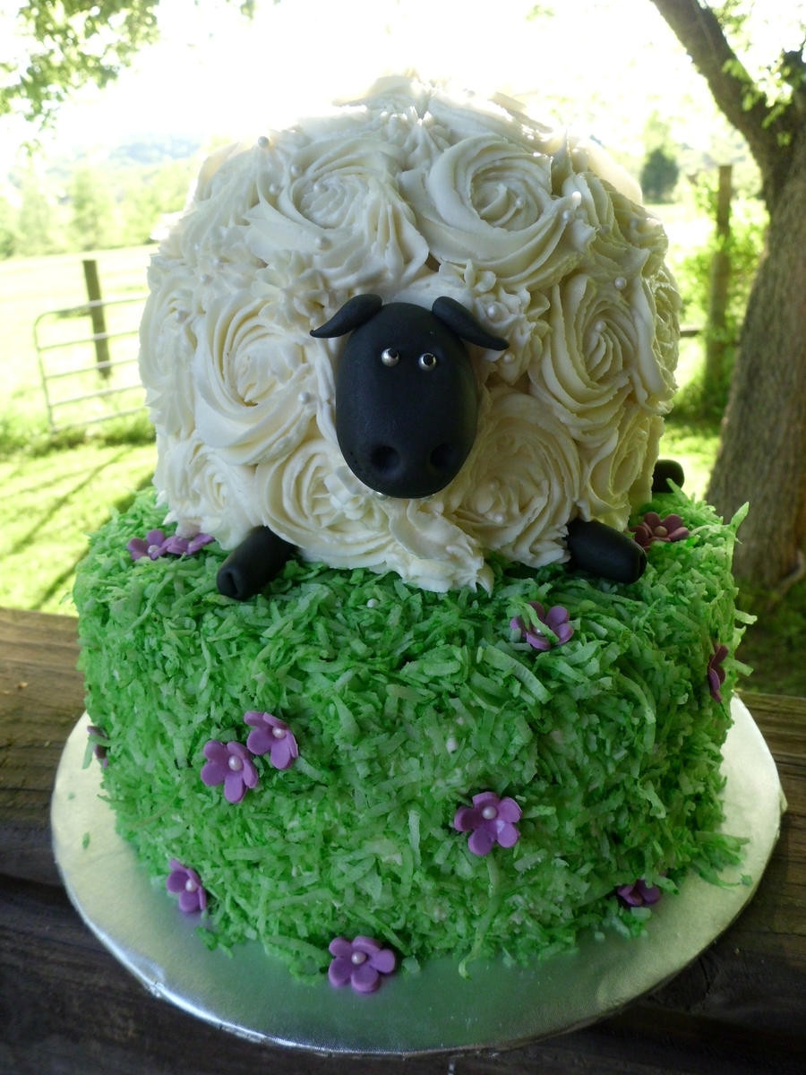 Easter Lamb on Cake Central
