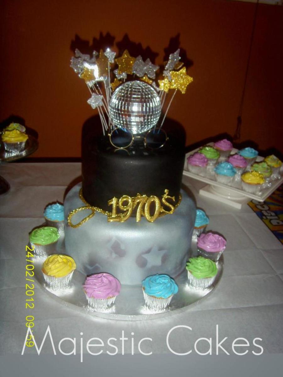 Disco Mania on Cake Central