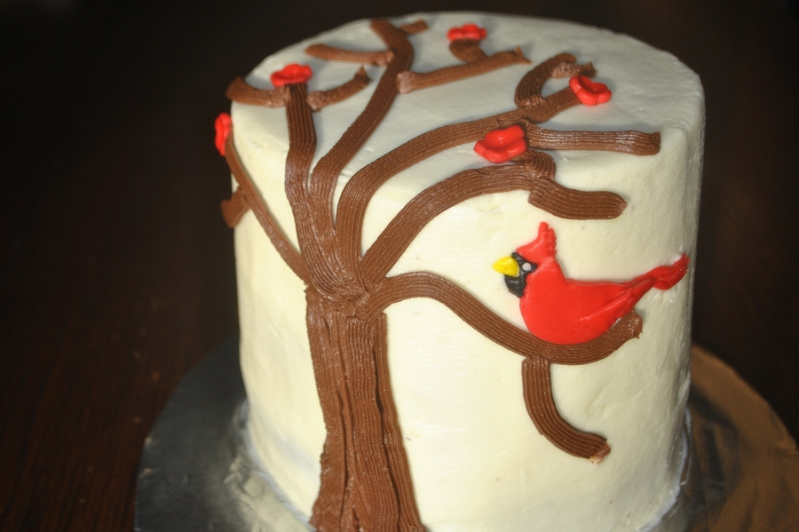 Cardinal  on Cake Central
