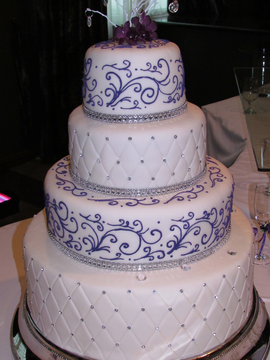 lavender wedding cake recipe purple wedding cakecentral 16772