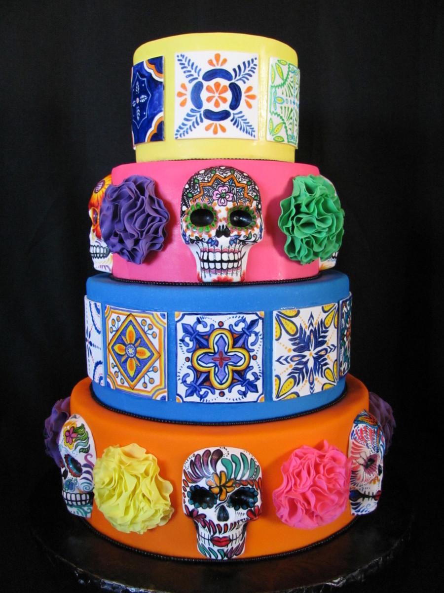 Dia De Los Muertos Cake Images