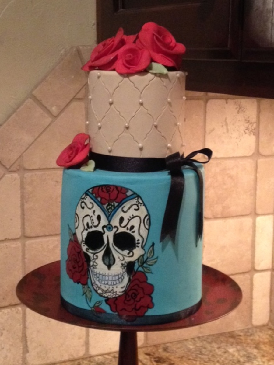 Day Of The Dead on Cake Central