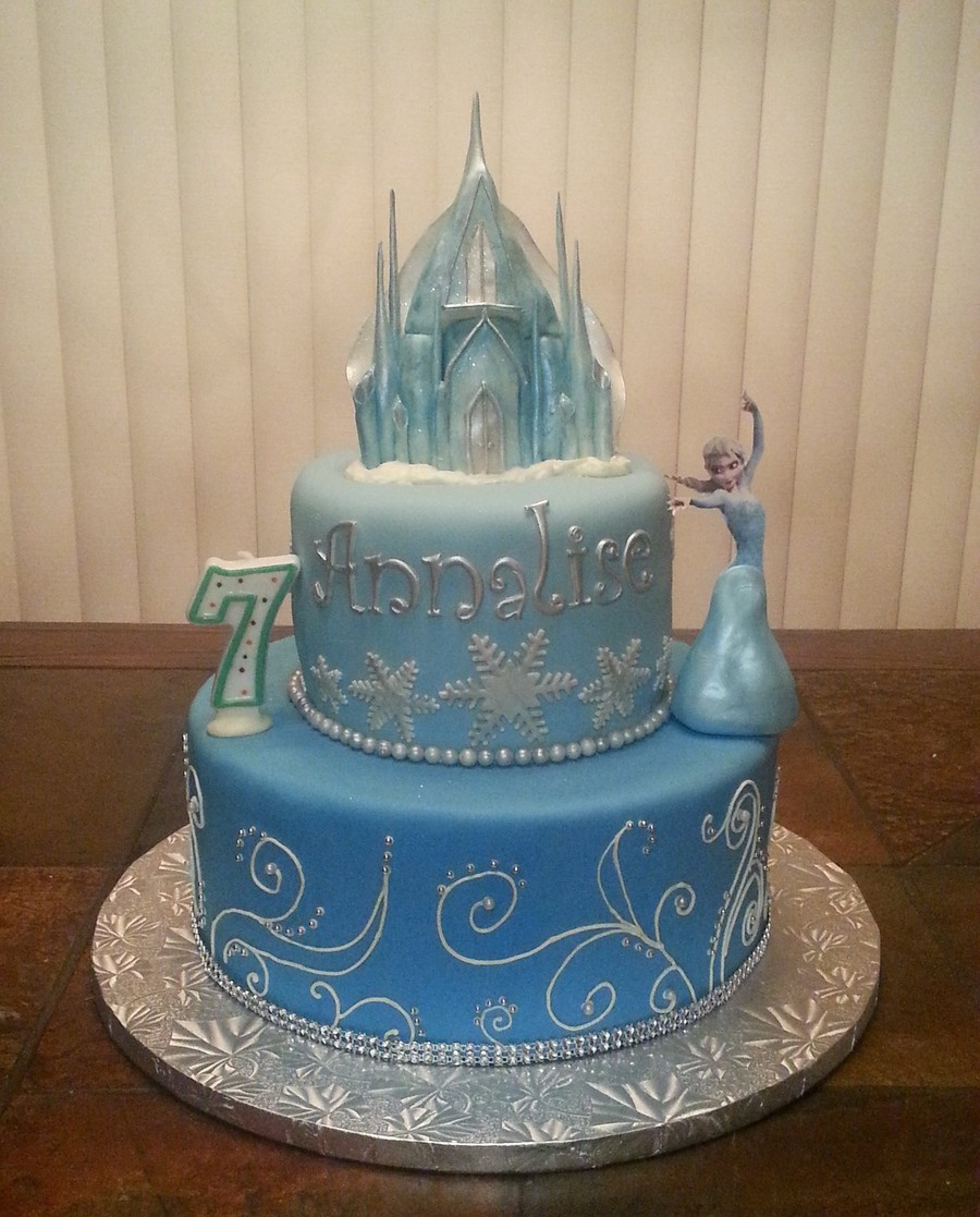 Cake Decorating Elsa Frozen
