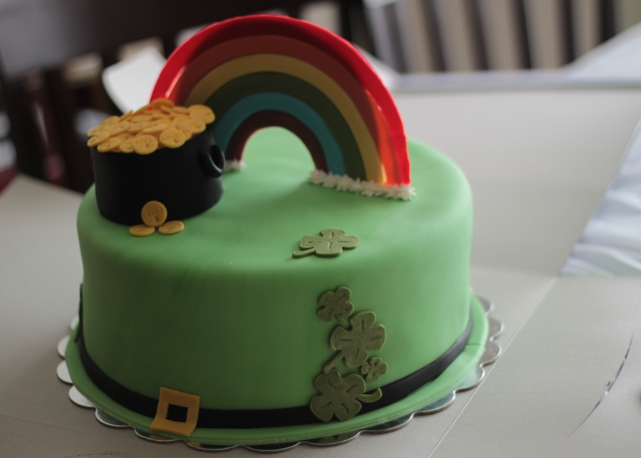 Luck 'o The Irish on Cake Central
