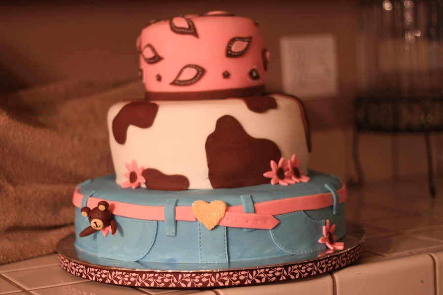 Cowgirl Cake on Cake Central