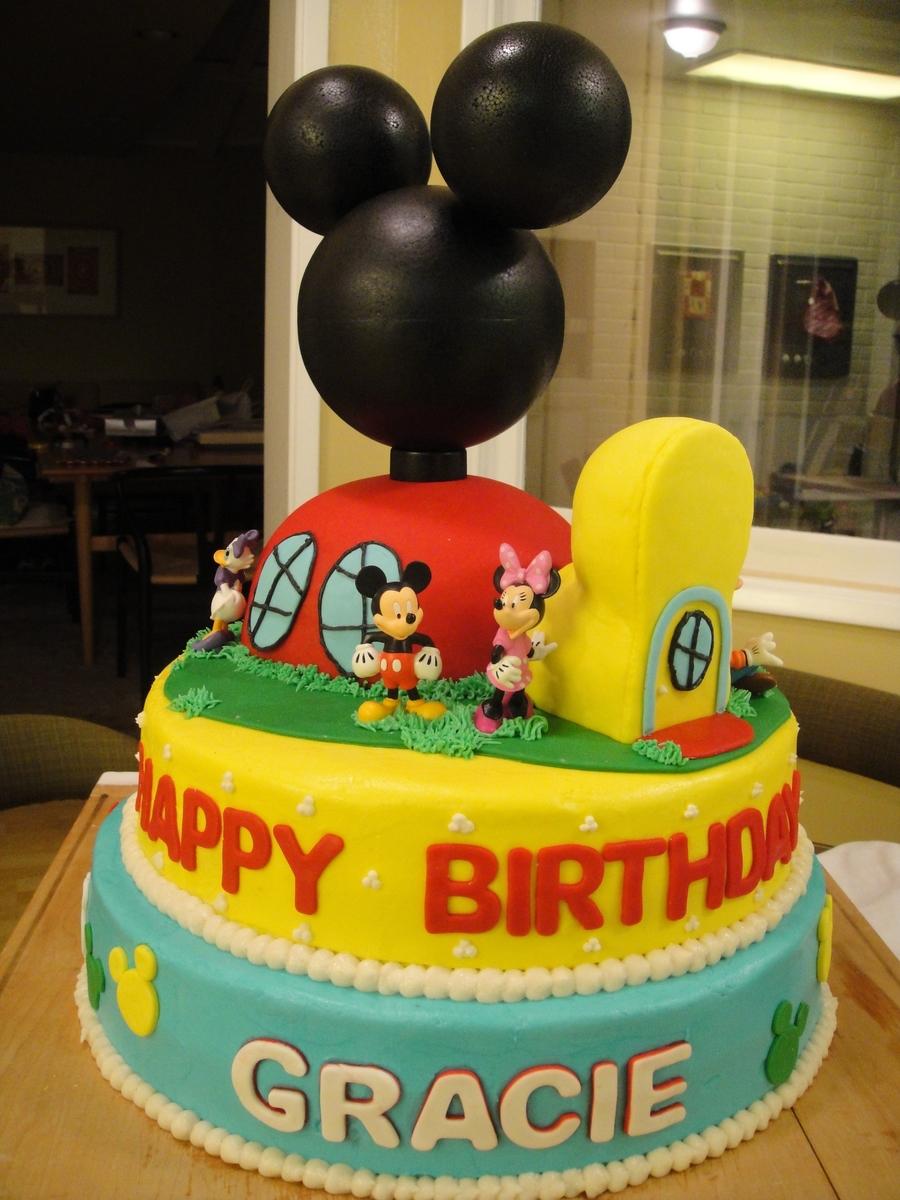 Mickey Mouse Club House Cakecentral Com
