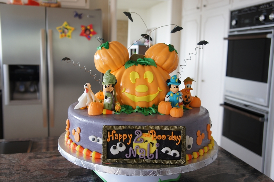 mickey mouse halloween birthday cake cakecentral com