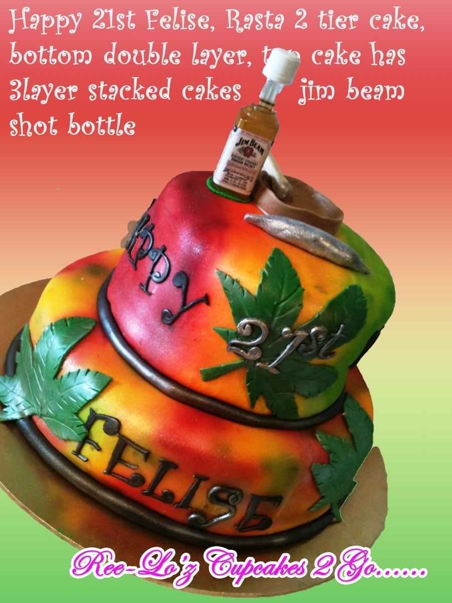 Rasta Cake Nz CakeCentralcom