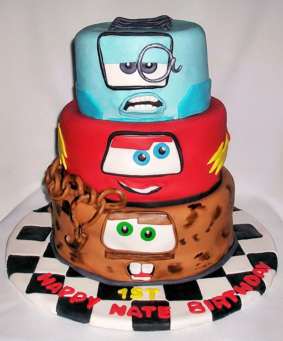 Cars Cake - CakeCentral.com
