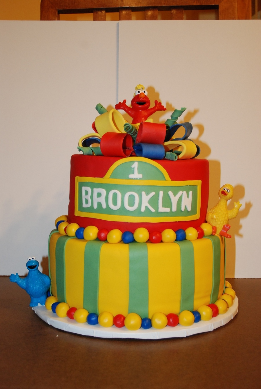 1 Yr Old Elmo Birthday Cake CakeCentralcom