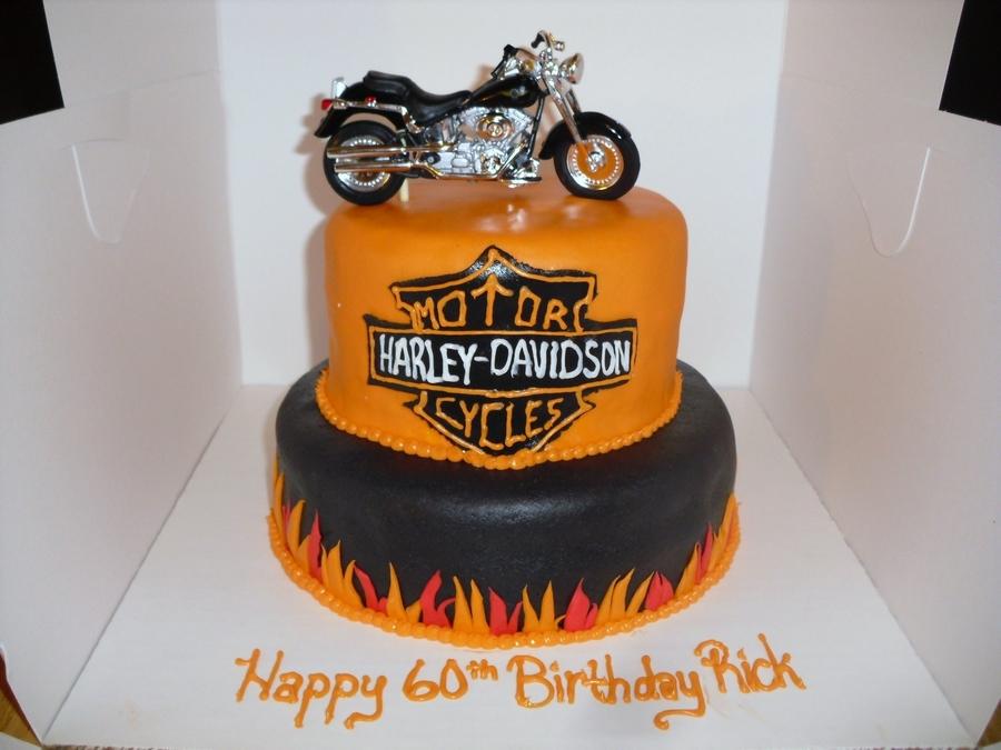 Harley Davidson Motorcycle Cake Cakecentral Com