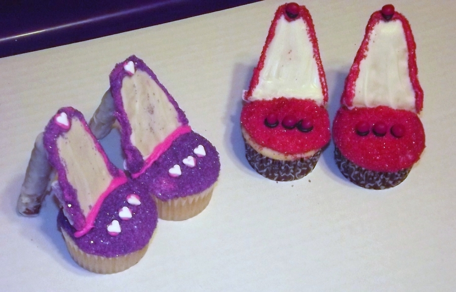 high heel cupcakes cakecentral