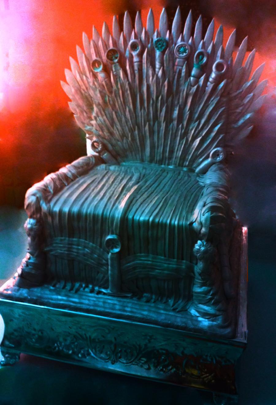 iron throne cake. Black Bedroom Furniture Sets. Home Design Ideas