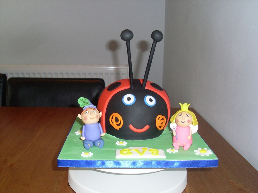 Ben Holly With Gaston Ladybird Cakecentral