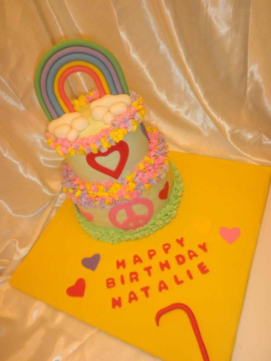 Birthday Cake For Natalie Strawberry Cake As Requested With