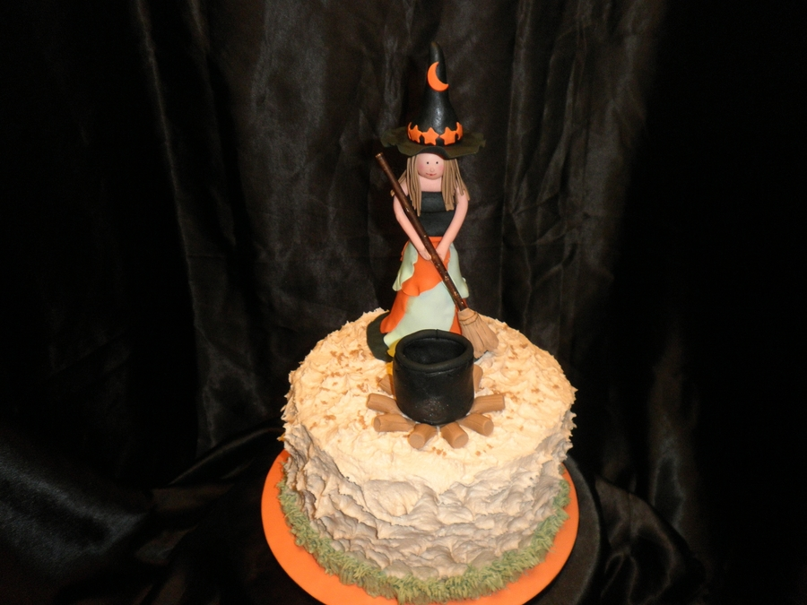 My First Witch on Cake Central