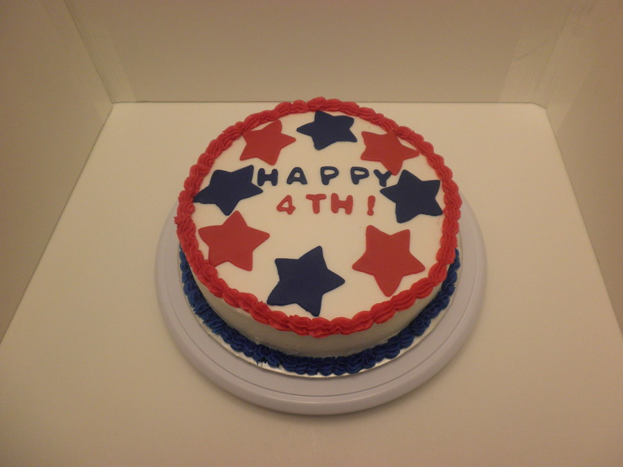 Happy 4Th! on Cake Central